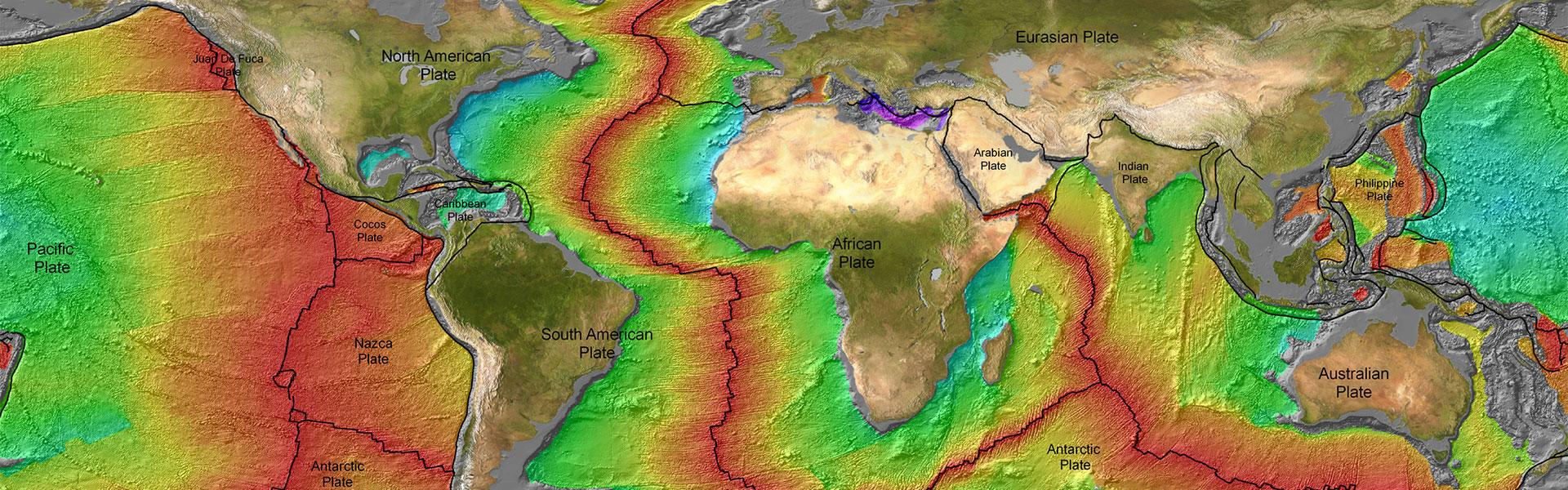 geophysics map