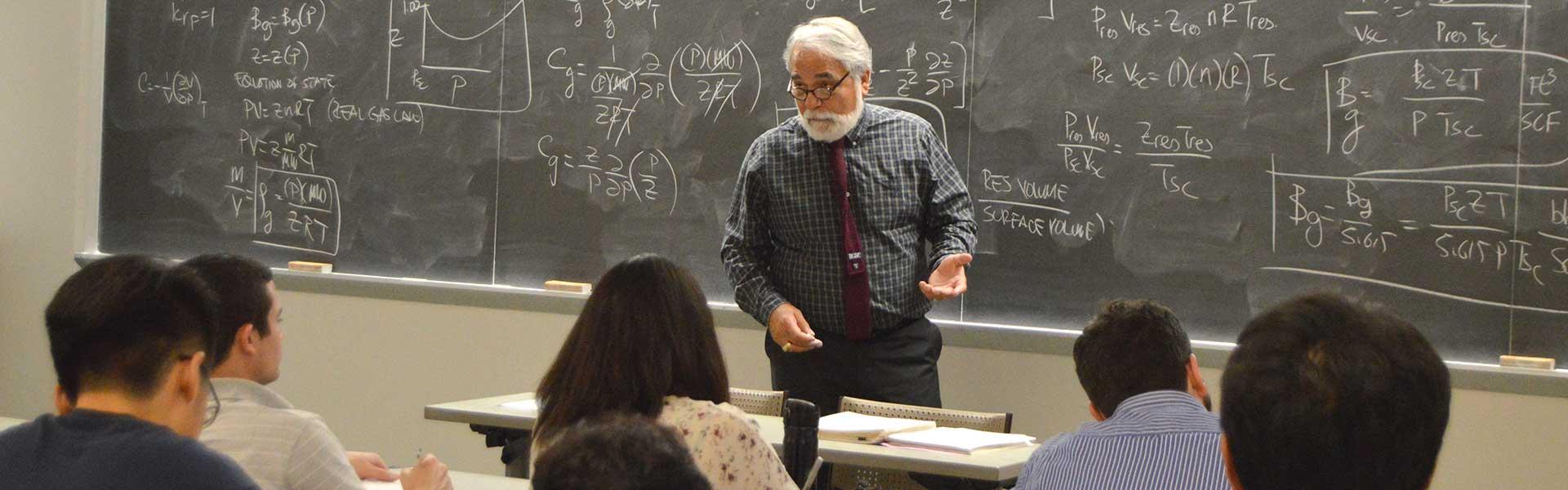 Turgay Ertekin teaching