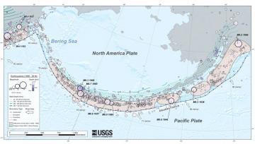 The Aleutian subduction zone