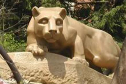 nittany lion in the spring