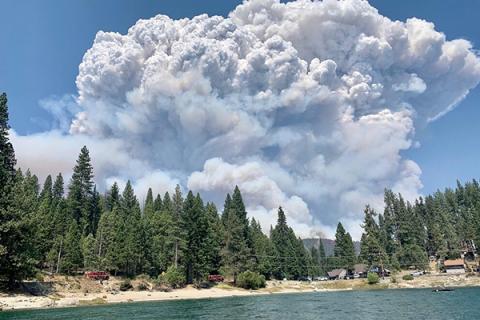 Creek Fire_California