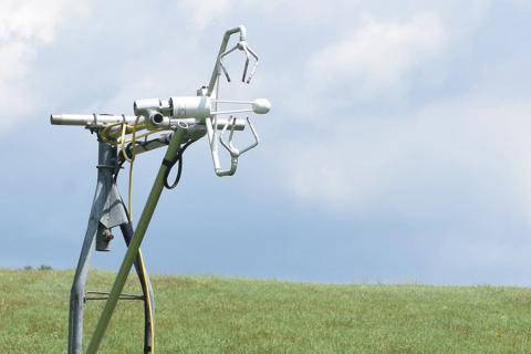 A flux tower