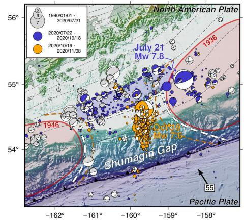 shumagin earthquake