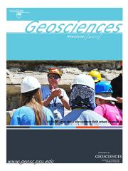 2012 Geosciences Cover