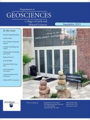 2013 Geosciences Cover