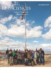 2014 Geosciences Cover