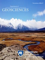 2016 Geosciences Cover